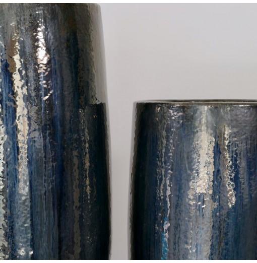 Vaso blu/grigio in...