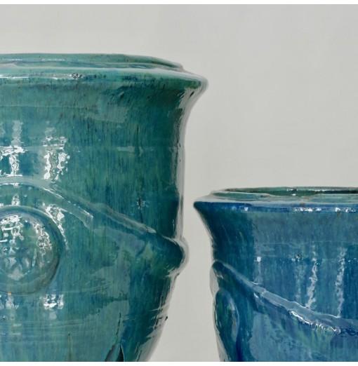Vasi azzurri classici in...