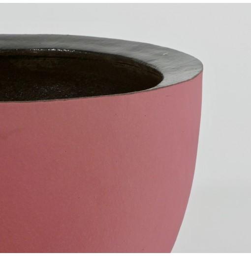 Vaso in terracotta rosa...