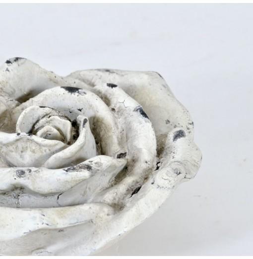 Rosa decorativa in cemento...