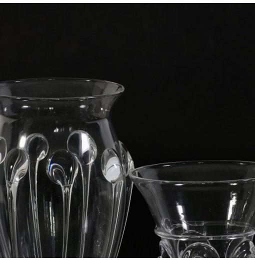 Vasetti in cristallo di Boemia