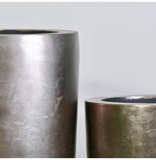 Vasi bronzati in fiberstone