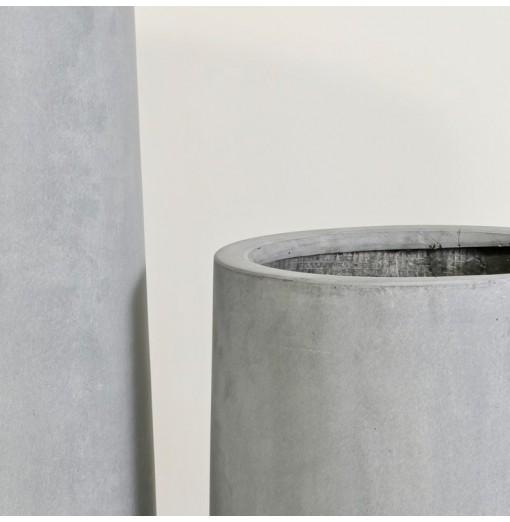 Vaso grigio svasato in...