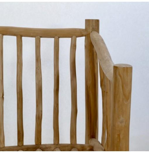 Poltrona in legno teak
