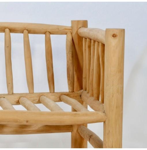 Sofa' in legno teak